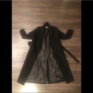 JLUXLABEL Black Valentine Soft Wool Trench Coat✨